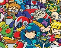 Megaman Tribute Artbook Entry (2011-UDON Comics)