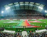 Supertaça 2015 - cerimónia de abertura