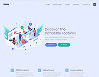 Flat illustrations for theme