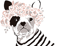 French Bulldog Sweatshirt - F/W 2016 Viviane Furrier