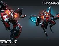 RIGS - Mechanized Combat League