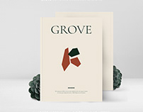 GROVE Editorial Lookbook Magazine