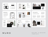 MURO - Powerpoint Template + Big Bonus