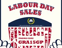 EDM design-Labour day