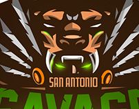 'San Antonio Savages' Logo