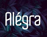FREE | Alegra Miminalistic Sans Serif Font