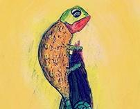 The Grumpy Chameleon