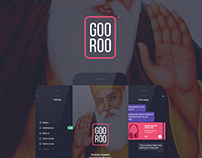 Gooroo - Personal Assistant Mobile App Concept