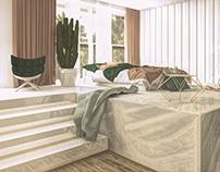Loft Bedroom / Gdańsk