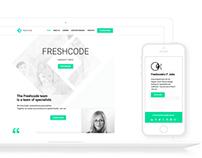FreshCode IT JOBS Website