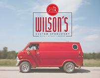 Wilson's Custom Upholstery - Logo Design