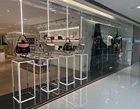 EW Group . Givenchy FW19 window installation
