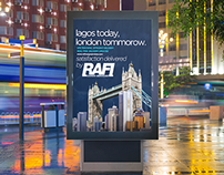 Rafi Cargo Services Advertising Campaign Materials.