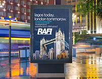 Rafi Cargo Services Advertising Campaign Materials.