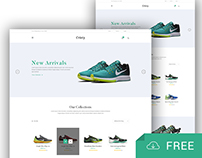 Cristy - Freebie E-commerce Template