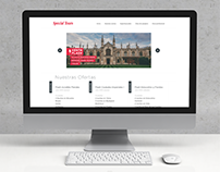 Special Tours Web Redesign