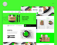 Adora Alimentos - Novo Site