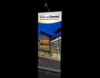 Edward Jones | Banner Stand Graphic Design