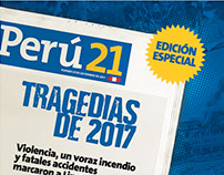 Suplemento TRAGEDIAS DE 2017 - Perú21