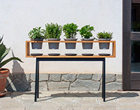 ROMIA herbs planter