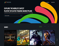 Exercise: Redesign Games Website - UX Design