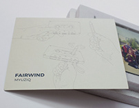 "FairWind ""Myuziq"" / art directing"
