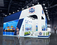 Exhibition stand for the NMTP