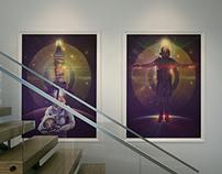 Space Oddity Series   Fine  Art