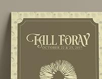 Fall Foray Festival