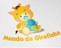 Logo Concurso - Mundo da Girafinha