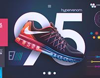 Nike Futuristic UI Concept (Free Download)