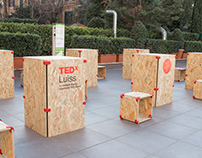 TEDx create smart furnishings for events