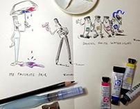 Drawing Homework - Mattias Adolfsson Drawing Course