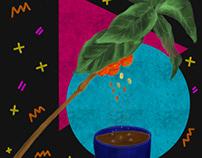 Fresh Coffee Plant