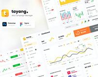 Tayang - Ad Manager Admin Dashboard UI Template