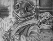 Mandalorian Frog Lady
