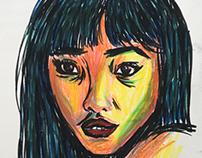 Marker sketch 3