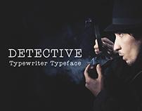 Detective - Typewriter Typeface