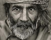 Omani desert man