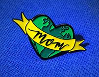 Mantic Muse - Earth pins