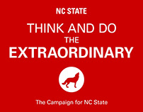 NCSU – Think and Do the Extraordinary – Randy Woodson