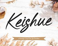 Keishue - Modern Script Font