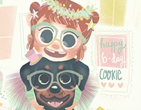 Happy B-Day Cookie!