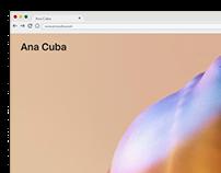 Ana Cuba. Website.