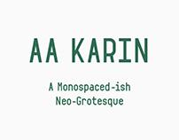 AA Karin Typeface