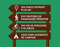 Parcs Nationaux du Québec / ICI Explora