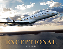 Bombardier Business AirCraft - International Campaign
