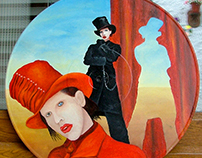 Portraits of Marilyn Manson