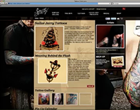 Sailor Jerry eCommerce site