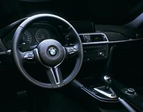 Unreal Engine: BMW M4 Interior